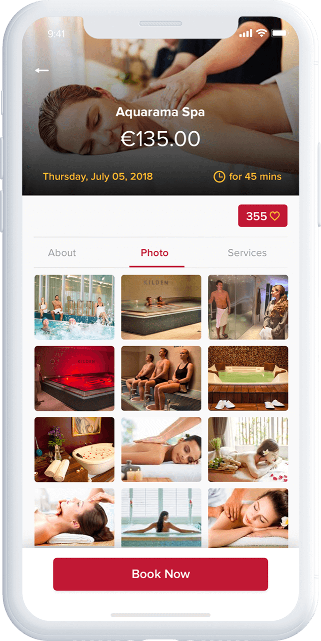 Spa Booking