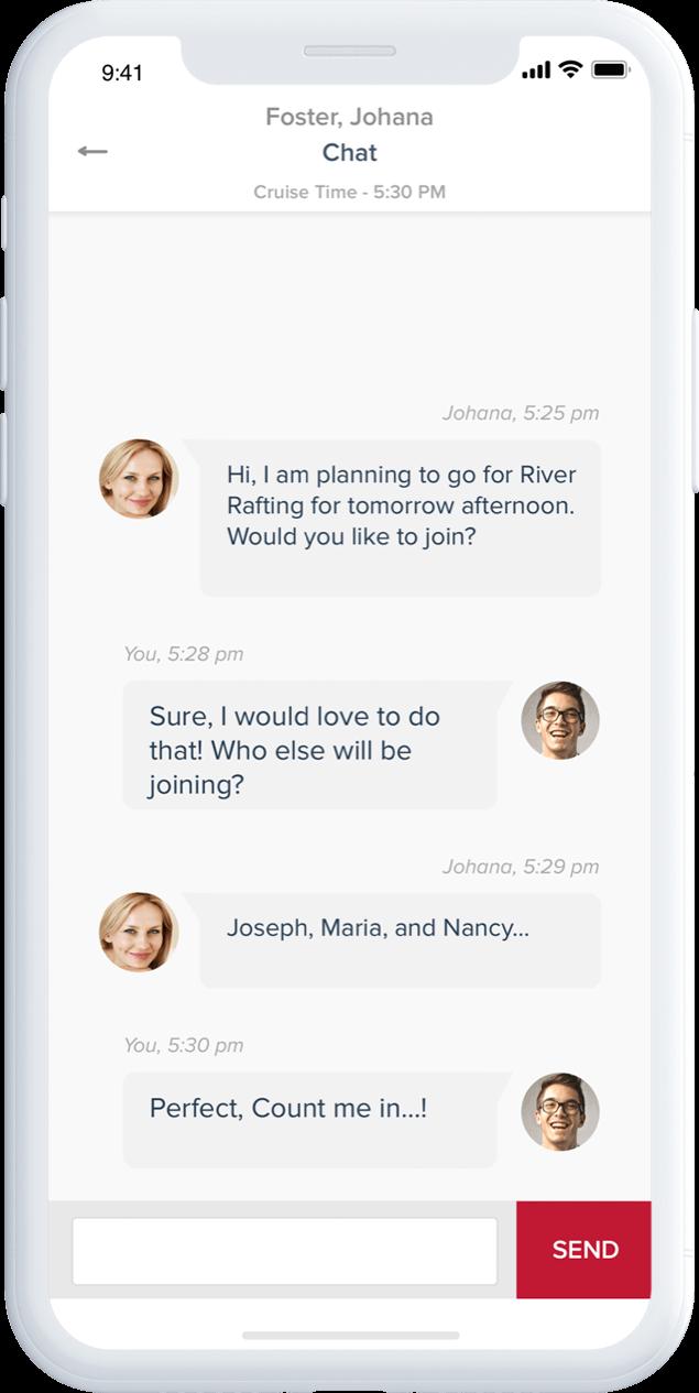 Peer-to-Peer Chat