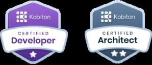 Kobiton Certified Developer, Kobiton Certified Architect