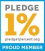 Proud Member of the 1% Pledge