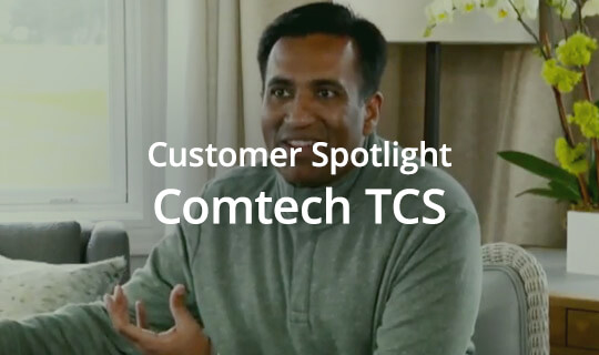 Customer Spotlight – Comtech TCS