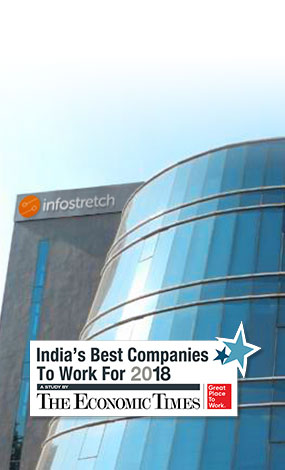 Infostretch Recognized as One of the 100 Best Workplaces for 2018