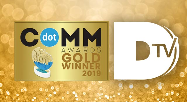 Infostretch Secures Gold dotCOMM Award for DTV, on YouTube